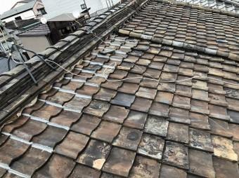 奈良市 雨漏り和瓦 現地調査