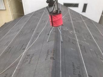 桜井市 防水シートの設置