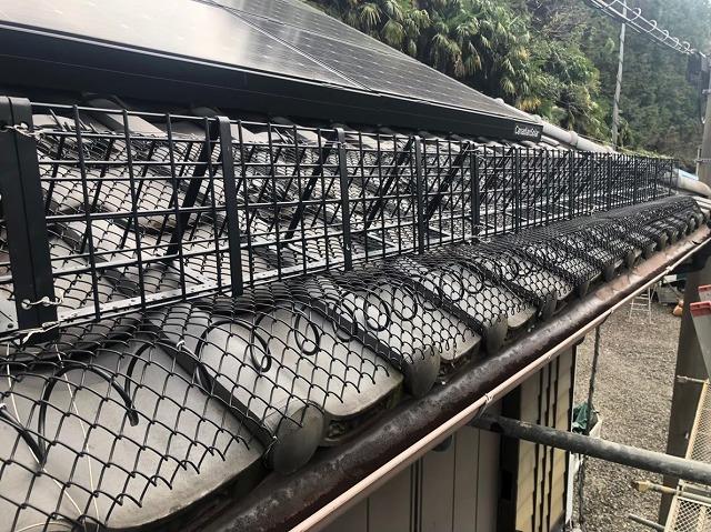 桜井市 落雪防止製品 設置後