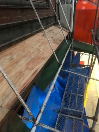 生駒市 野地板 設置