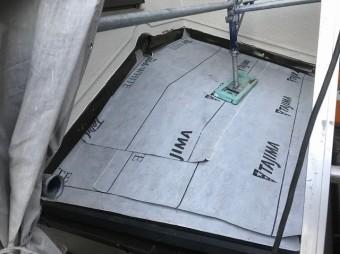 天理市 防水紙 設置