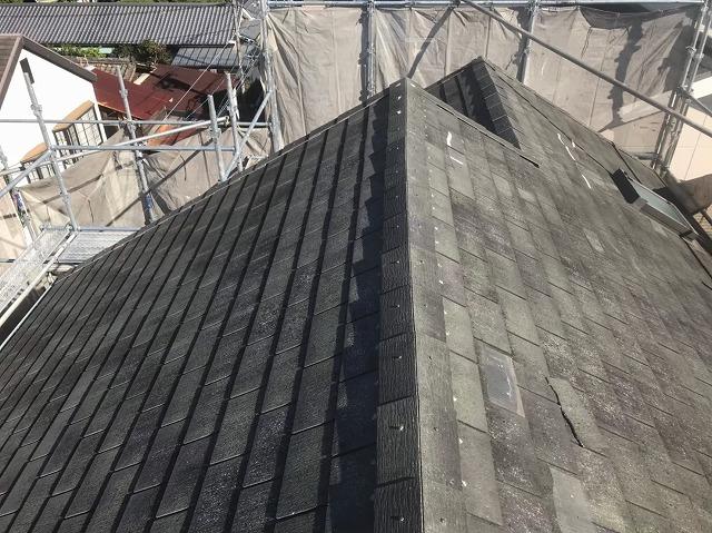 天理市のスレート屋根のお住まい