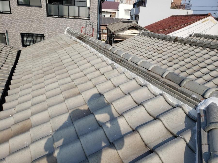 大阪市内の漆喰詰め直し工事完成