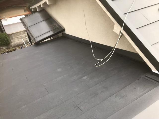 ガルテクト葺き替え工事完成