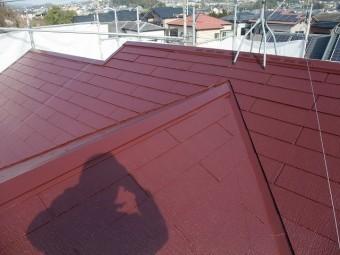 屋根塗装が完工