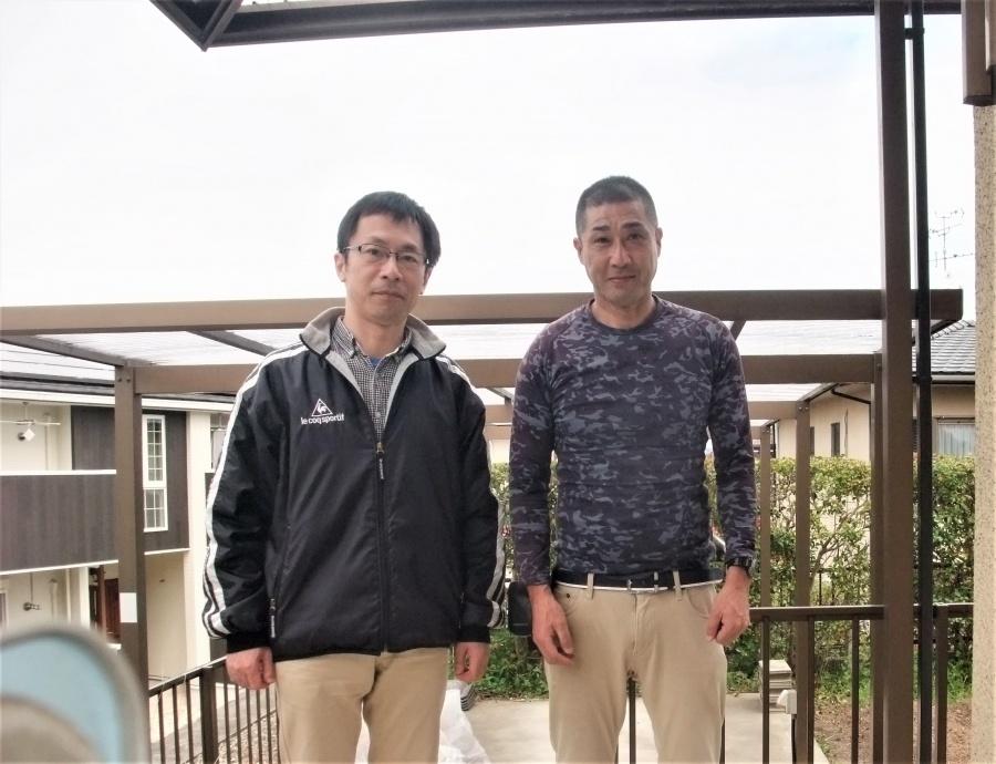 奈良市で強風によって剥がれた下屋根の波板を修理されたお客様の声