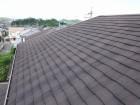 屋根補修前のスレート屋根