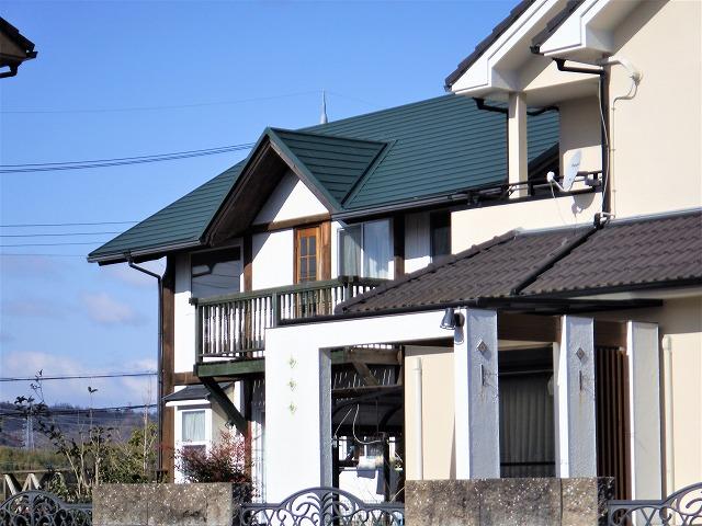 生駒市でカバー工事完成後の写真