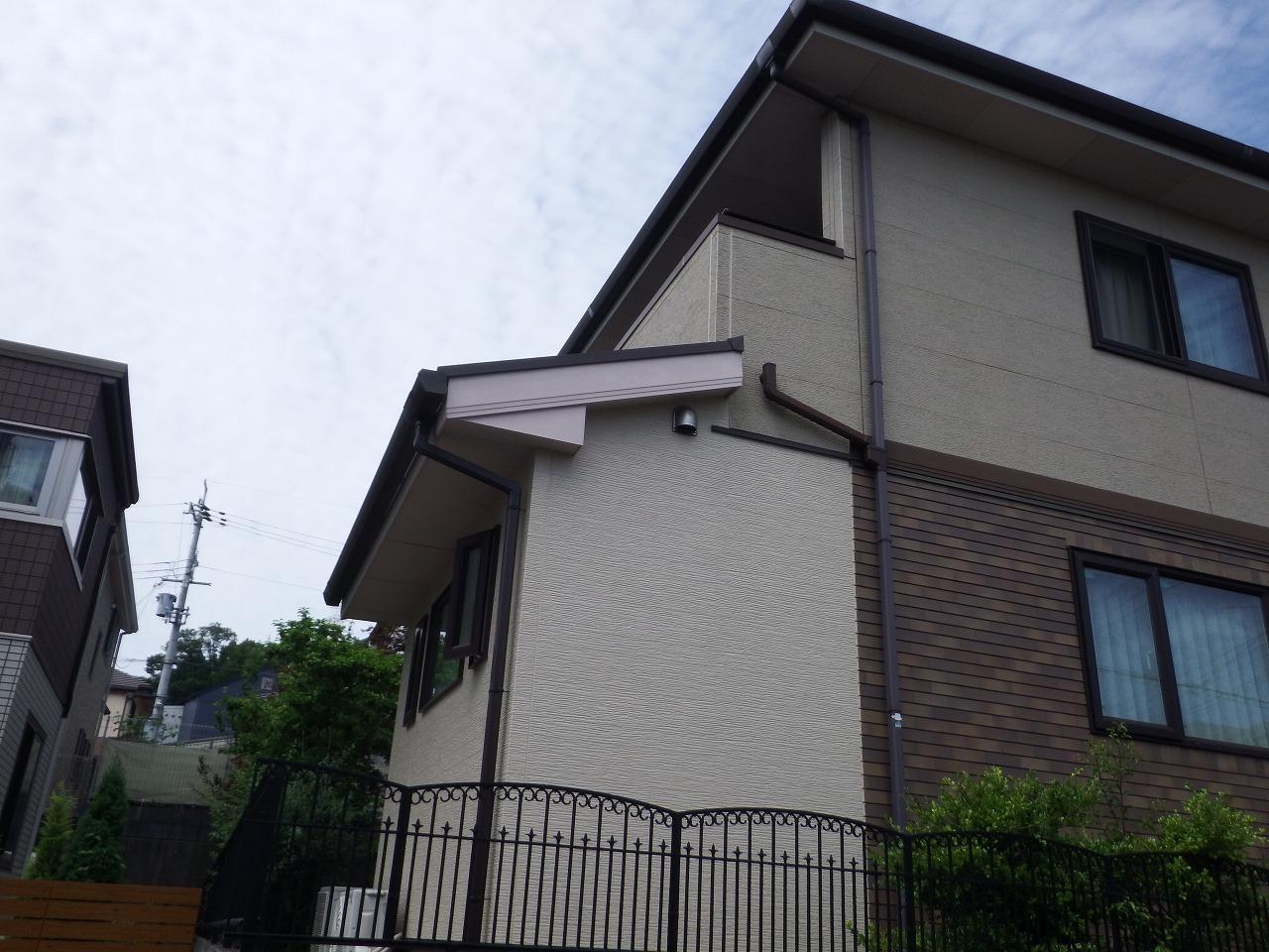 生駒市の塗装工事、外壁塗装前