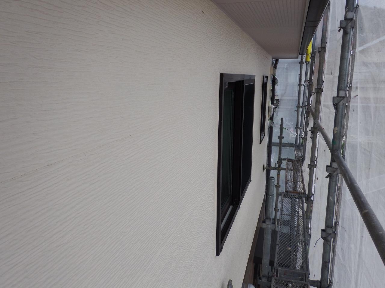 生駒市の外壁塗装後