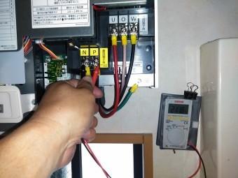 パワコン電圧測定
