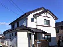 屋根カバー・外壁塗装完工写真