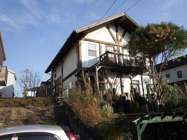 生駒市で台風被害にあったお宅の補修工事の提案