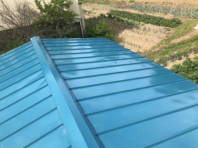大和郡山市の立平葺き屋根