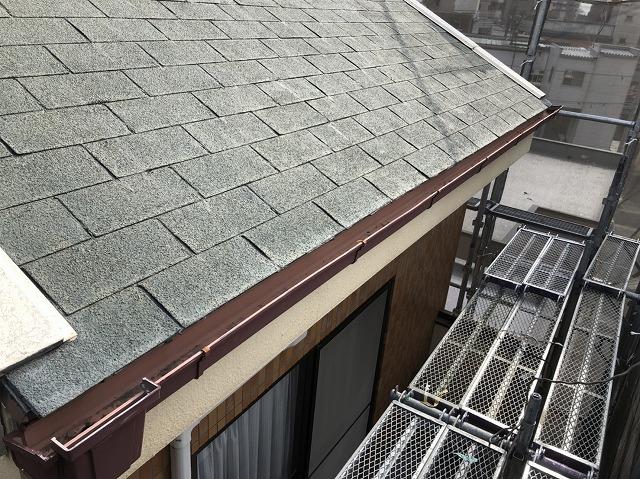 工事を始める前の屋根の様子