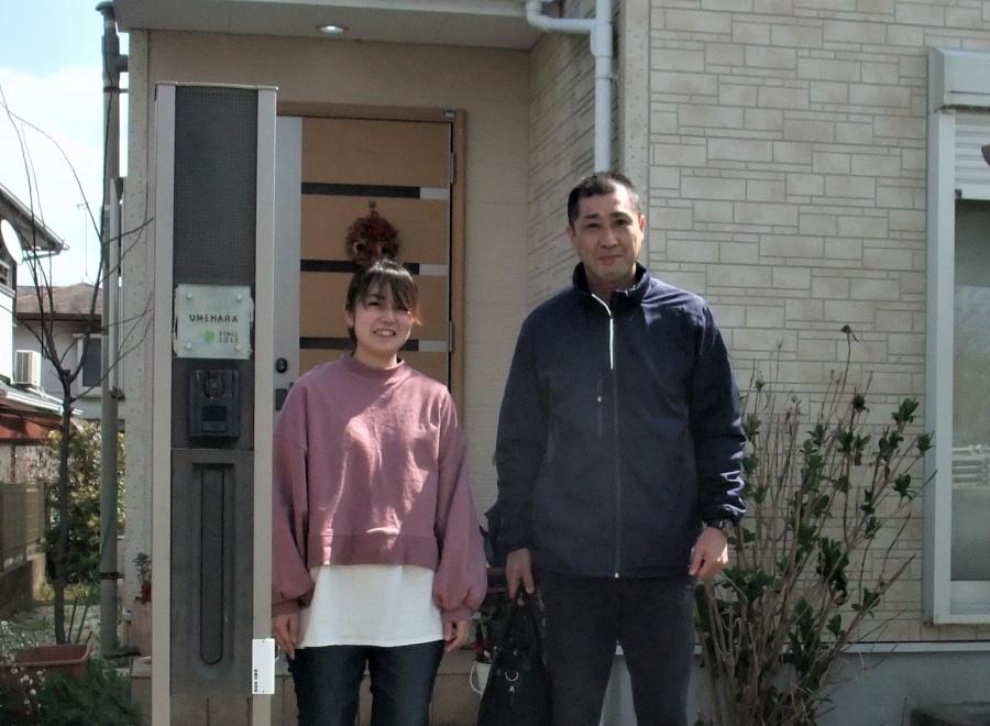 奈良市中山町で強風で壊れたスレート屋根を補修塗装されたお客様の声