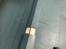 生駒市で貫板と棟板金の取り付け作業