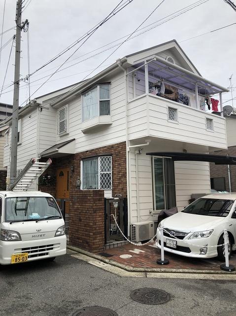 奈良市で雨漏り調査