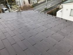 奈良市 スレート屋根施工前