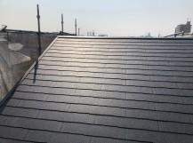 奈良市のカラーベスト屋根施工後