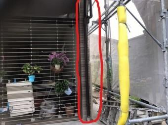 雨樋の補修工事取り換え