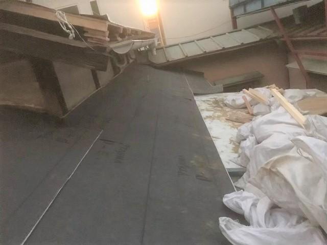 桜井市 防水シート 設置