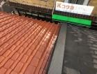 奈良市の屋根の取り合い板金完成