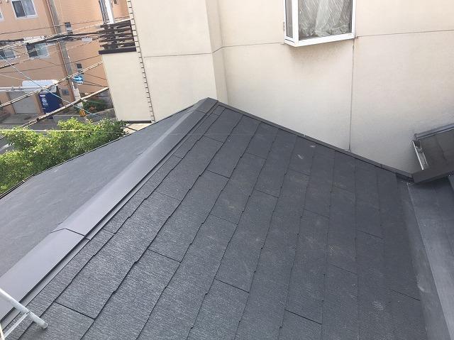 大屋根の葺き替え完成