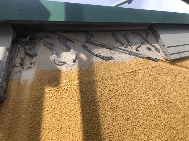 天理市の破風板補修工事