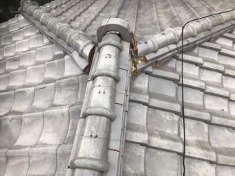葛城市 雨漏り棟瓦 無料点検