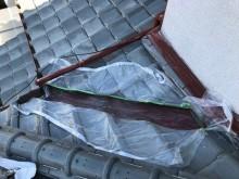 橿原市の谷板金の塗装、下塗り