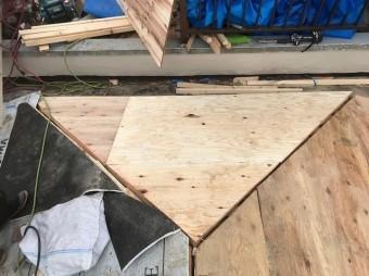 橿原市 野地板 設置