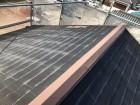 奈良市のカラーベストの剥がれた屋根