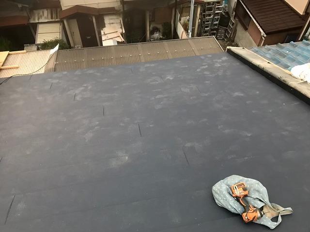 奈良市でガルテクトへ屋根葺き替え完了