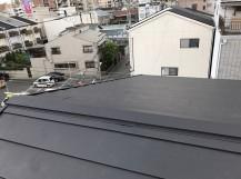 ガルテクト設置後の屋根