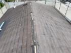 生駒市でカバー工法工事を始めるスレート屋根