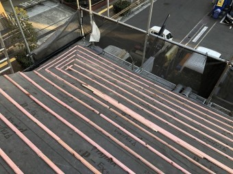 奈良市 桟木 設置