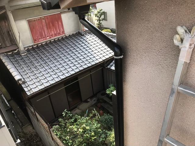 天理市 雨樋 設置