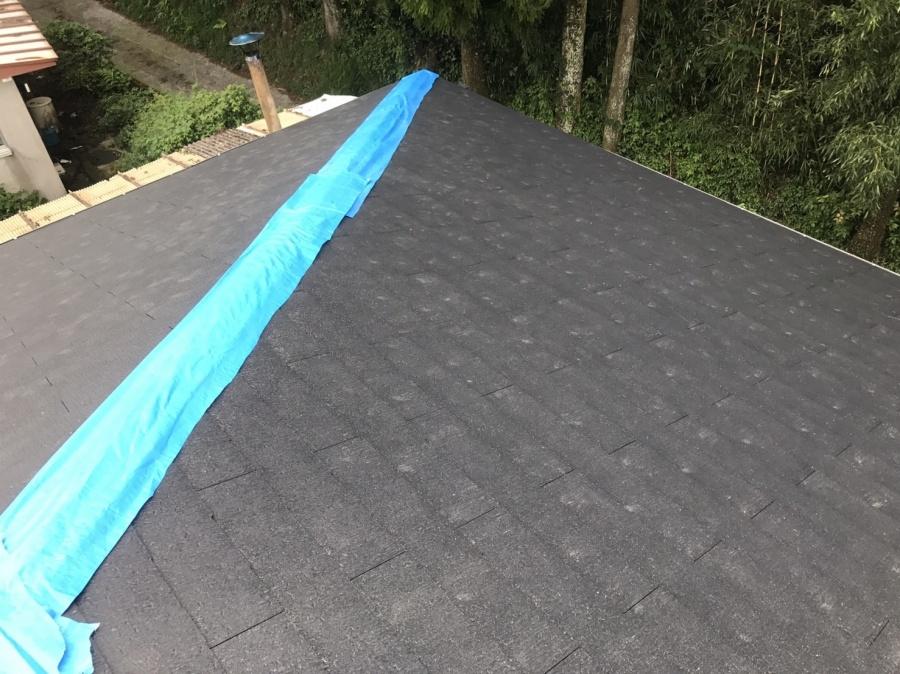 天理市5 新しい屋根