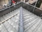 生駒市の大屋根の工事完成