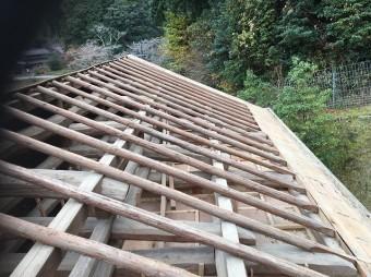 垂木の補強