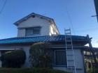 奈良市平群町の瓦屋根の様子