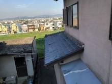 いぶし瓦の葺き替え庇部分