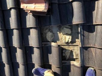 無料点検の屋根の様子