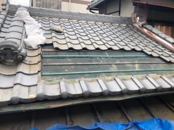 三郷町 複合型瓦屋根 部分葺き替え工事