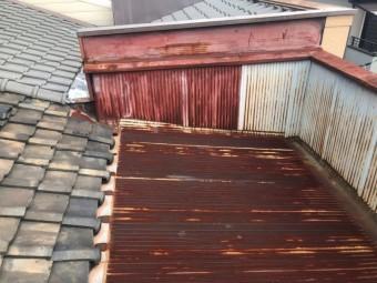 奈良市の経年劣化している屋根を葺き替え