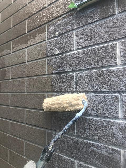 外壁シーラー塗装