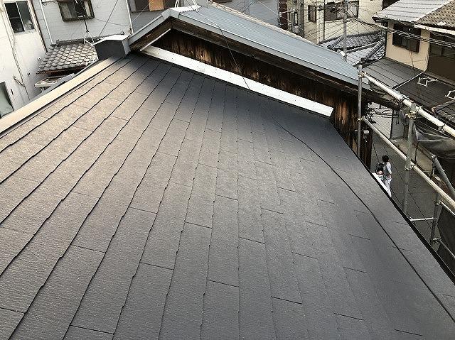 葺き替え後屋根