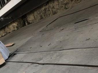 奈良市の下屋根のかさ上げ