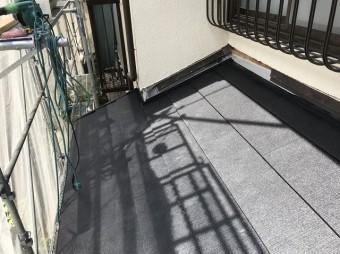 下屋部分の黒いガルテクト